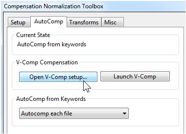 Integration with V-Comp™ App