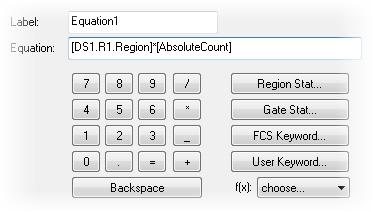 Equations and Keywords