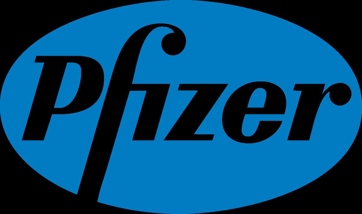 Pfizer logo, FluoroFinder partnerships