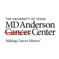 MD Anderson Cancer Center logo, flow panel design