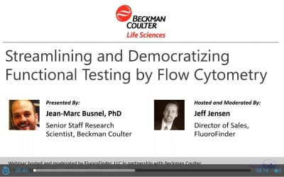 Streamlining and Democratizing Functional Testing by Flow Cytometry